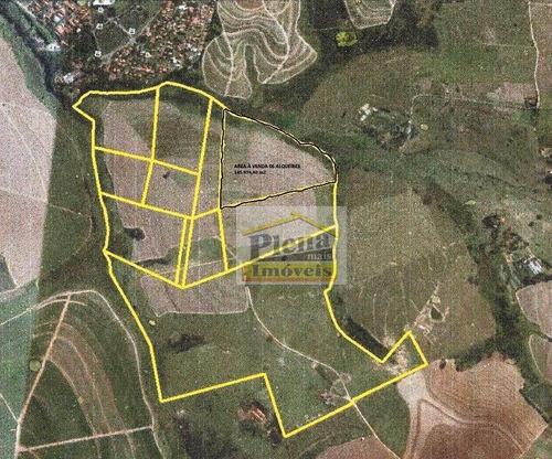 Área À Venda, 304252 M² - Chácara Cruzeiro Do Sul - Sumaré/sp - Ar0095