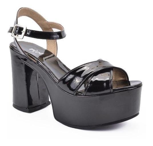 Sandalias Mujer Plataforma Riot Art 3651 Zona Zapatos