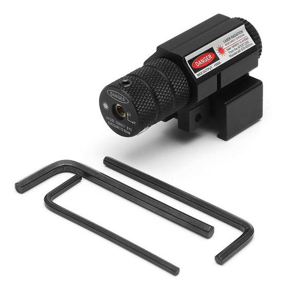 Mini Laser Vermelho Visão Pendurar Tipo Feixe Ponto Âmbito V
