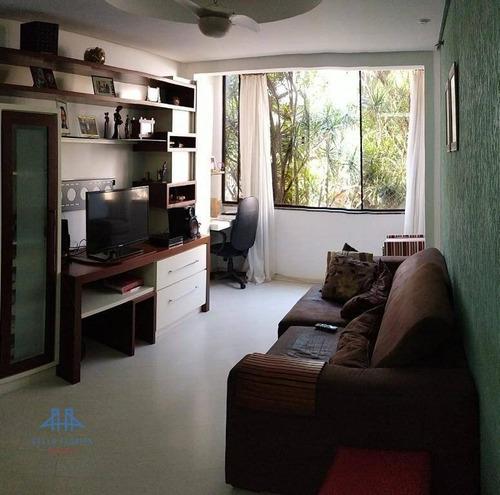 Apartamento Com 3 Dormitórios À Venda, 96 M² Por R$ 550.000,00 - Coqueiros - Florianópolis/sc - Ap2165