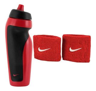 Munhequeira Nike Fitness Academia Wristband+ Garrafa Água Nf