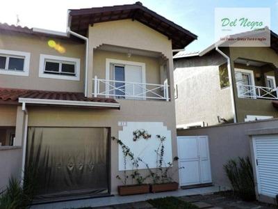 Casa Com 3 Dormitórios Para Locação, 125 M² - Vila Inglesa, Granja Viana. - Ca0657