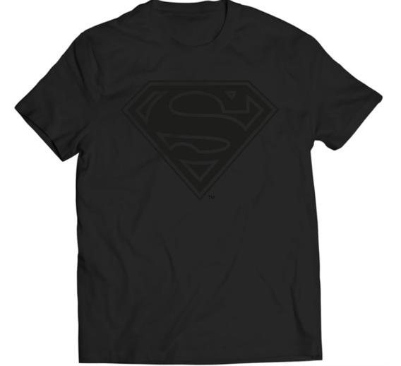 Xperma Playera Superman Logo Black