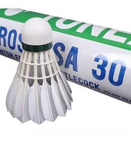 Imagem 1 de 1 de Peteca De Pena Badminton Yonex Aerosensa 30