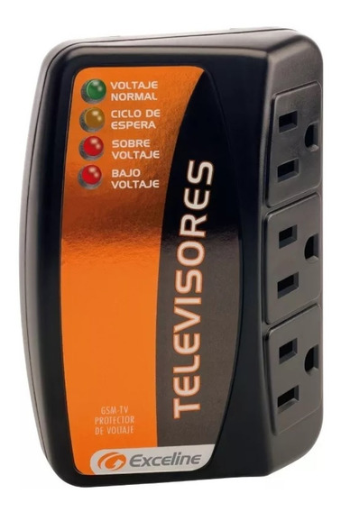 Protector Televisores Lcd Dvd 3 Tomas Exceline Gsm-tv120