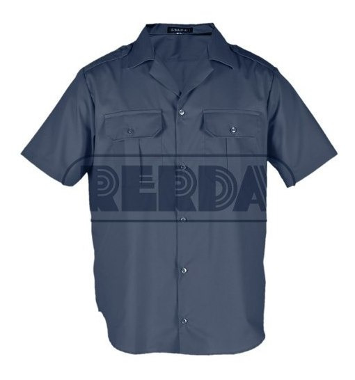 Camisa Manga Corta Policía Azul T: 34 A 44 Cuotas