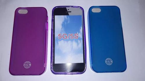 Forro Acrigel Para iPhone 5 Benacell