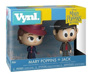 Funko Mary Poppins + Jack Vynl Original Disney Scarlet Kids