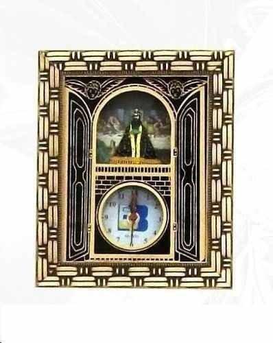 Quadro Relógio Nossa Senhora Aparecida E Santa Ceia Md2
