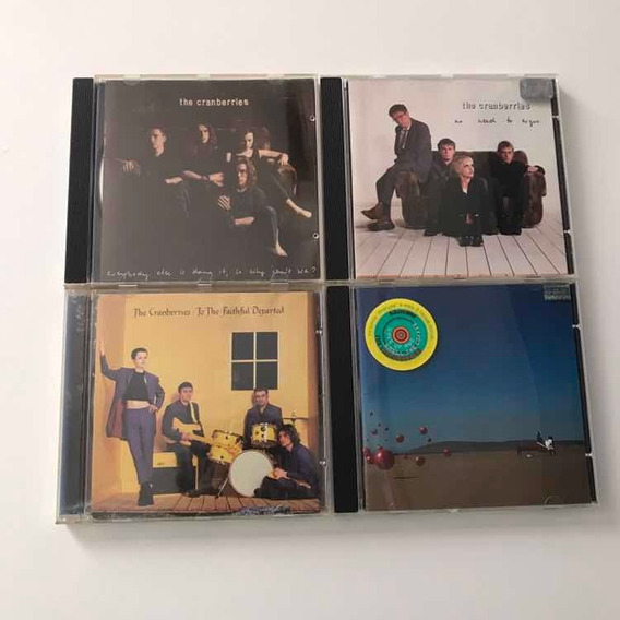 Lote De Cds The Cramberries Fateful Departed No Need