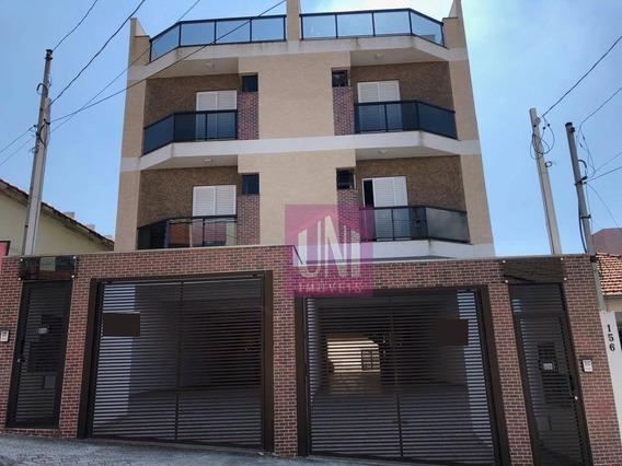 Cobertura Com 3 Dormitórios À Venda, 144 M² Por R$ 430.000 - Vila Alpina - Santo André/sp - Co0736