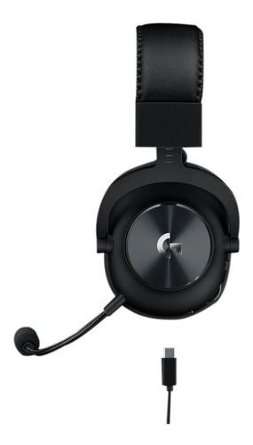 Diadema Gamer Logitech Pro X 7.1 Inalámbrica Blue Voice Dts