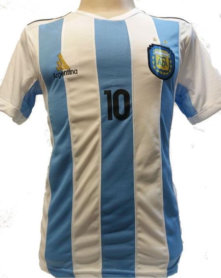 Camisa Argentina Listrada 2018 Promoção