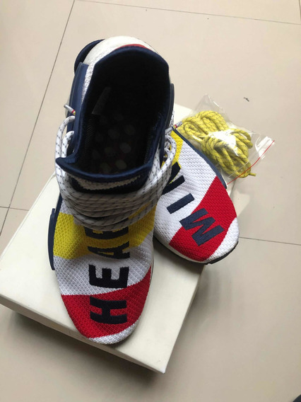 Sneakers Tenis adidas Human Race 8.5 Mex Con Caja Cuidados
