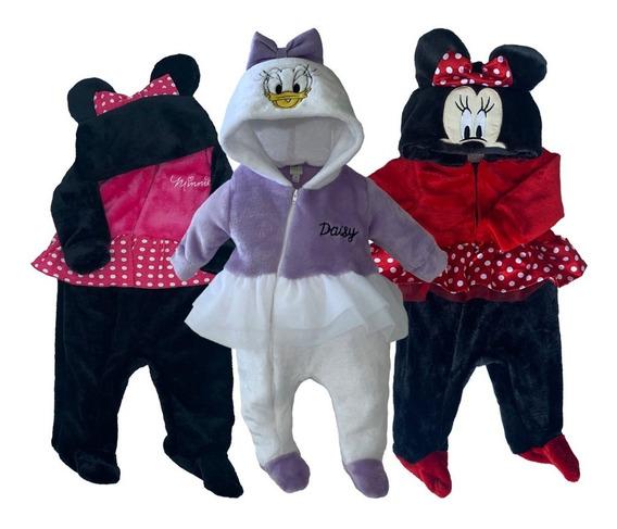 Kit 3 Mamelucos Disney Minnie, Daysi A Precio De 2