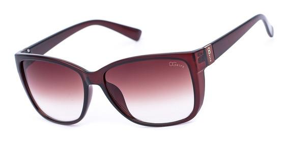 Oculos Ogrife Solar Feminino Og 1193-c Proteção Uv Original