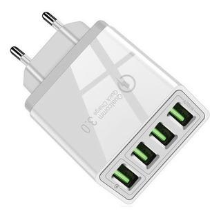 Cargador Múltiple Qualcomm Quick Charge 3.0 48w Usb X 4