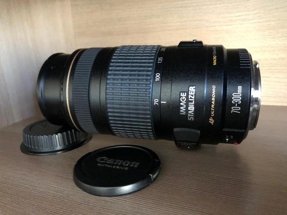 Lente Canon Original Ef 70-300mm F/4-5.6 Is Usm Untrassonic