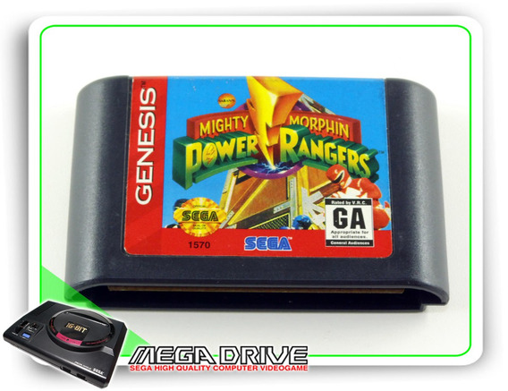 Mighty Morphin Power Rangers Original Genesis / Mega Drive