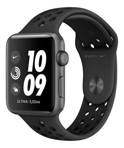 Relógio Smartwatch Apple Watch Series 3 Nike+ 42mm Gps