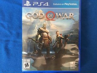 God Of War Físico Ps4 Gamesps4bigstore