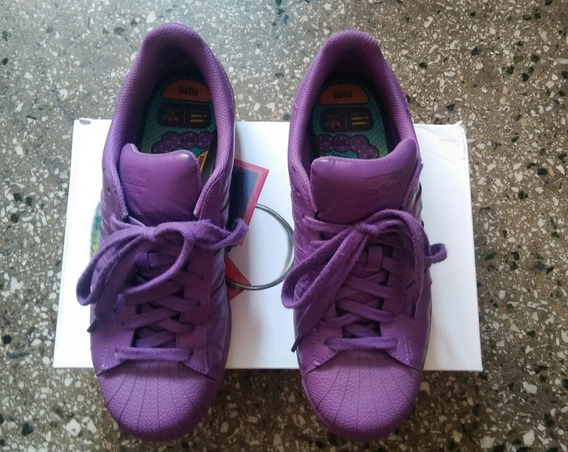 Zapatos adidas Originales Superstar Supercolor Morado 42