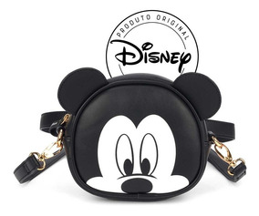 Bolsa Lateral Mickey Mouse E Pochete - Original Disney