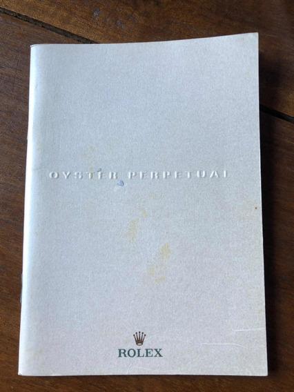 Catálogo Rolex