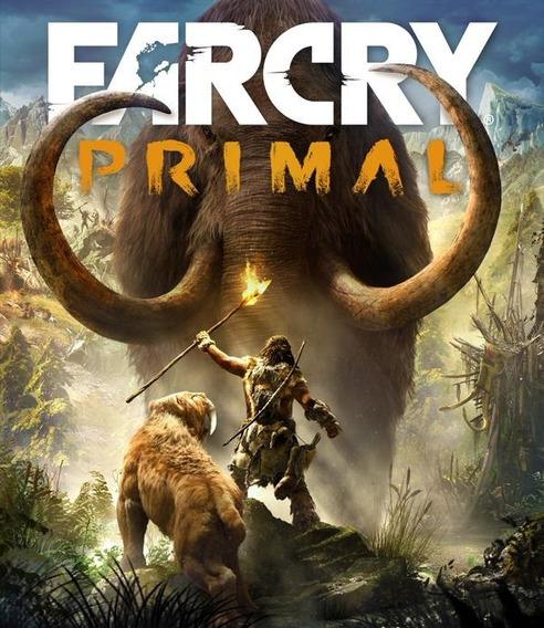 Jogo Far Cry Primal Ps4 - Mídia Física