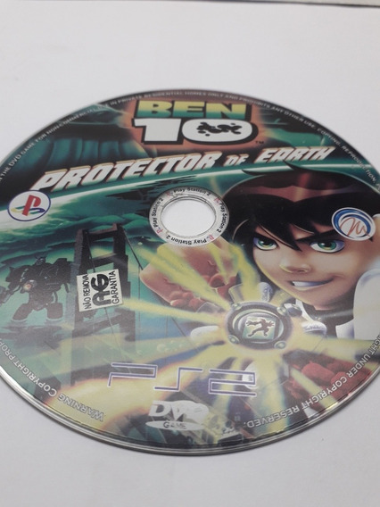Jogo Ben 10 Protector Of Earth Playstation 2 Dvd