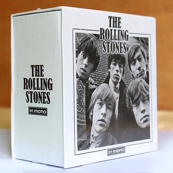 Box Discografia Rolling Stones In Mono 15 Cd