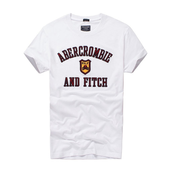 Kit De 02 Camisetas Hollister E Abercrombie & Fitch Original