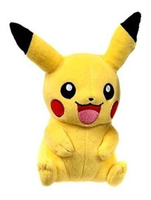 Pelúcia Pokémon Pikachu Happy 20cm Original Tomy