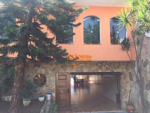 Casa De Alto Padrão Na Vila Rosália Com 3 Dormitórios, 425 M² Por R$ 1.290.000 - Guarulhos/sp - Ca0241