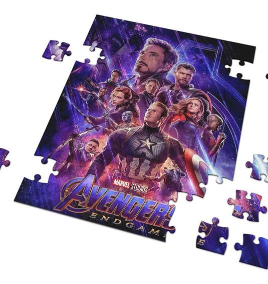 Avengers Endgame Rompecabezas De Colección Varios Diseños