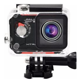 Câmera Filmadora Xtrax Evo Preta / Vermelha 12mp Lcd 2,7