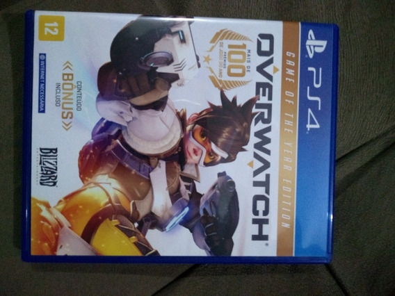 Game Ps4 Overwatch