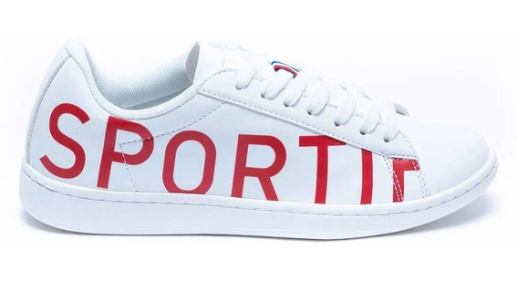 Zapatillas Le Coq Sportif Courtset Logo White/red