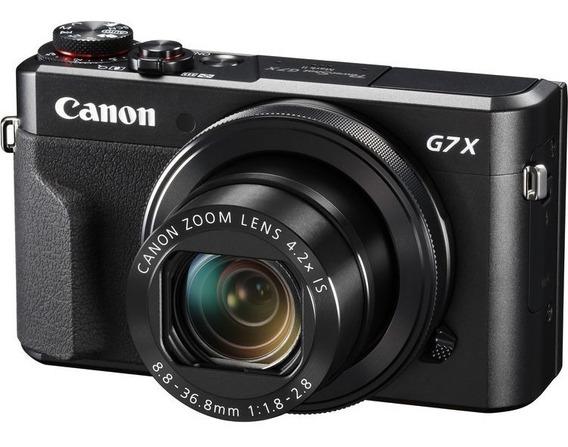 Câmera Compacta Canon G7 X Mark Ii Wifi 20.1mp 4.2x Preto
