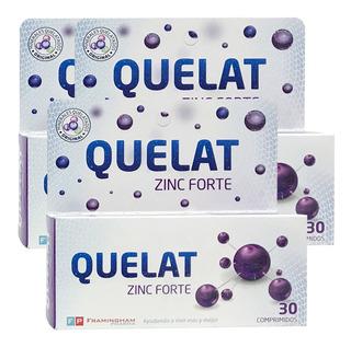 Pack Quelat Zinc Forte 90 Comp Minerales Aminoquelados