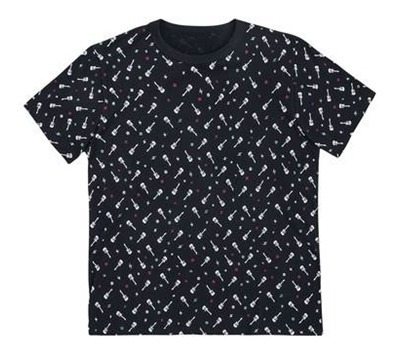 Camiseta Masculina Manga Curta Estampada - Pets Hering