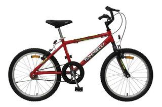 Bicicleta Infantil Rod 20 (tt20v) Niños -tipo Bmx -tomaselli