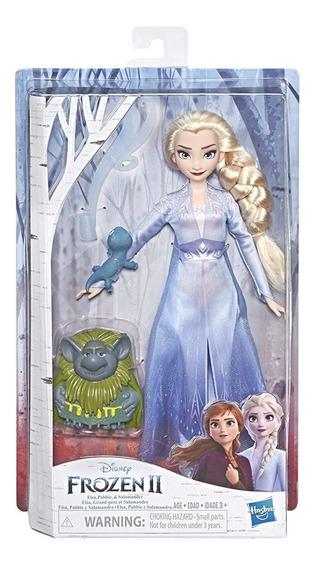 Muñeca Frozen Ii Elsa Con Mascotas Original 30v Envio Gratis
