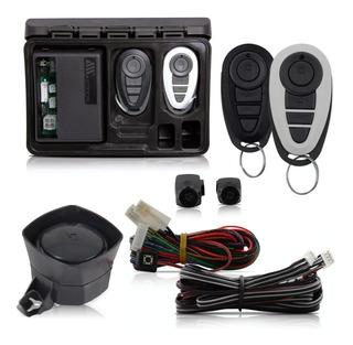 Alarme Para Carro 2 Controles Bloqueador Veicular Anti Furto