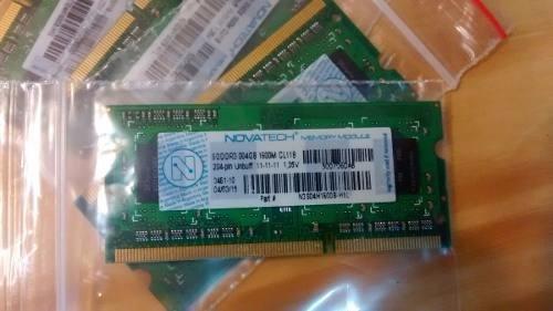 Memoria Sodimm 4gb Novatech Ddr3 1600mhz Notebook Netbook