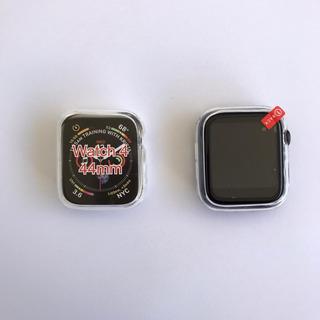 Case Bumper Transparente Apple Watch E Iwo 44mm 42mm