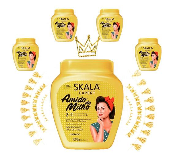 Crema Skala 100 % Vegana Apta Co-wash