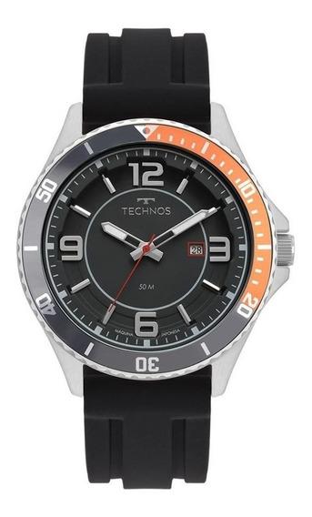 Relógio Masculino Technos Pulseira Silicone 2115msj8p