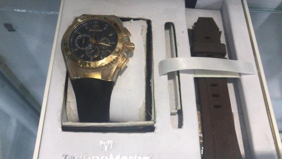 Relógio Feminino Technomarine Cronografo Esportivo + Nf