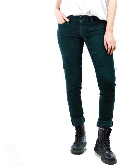Pantalón Verde De Pana Levi
